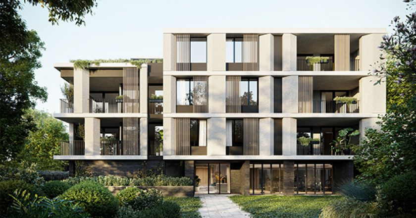 Property developer Pierce Property has awarded a $14 million construction contract to build a luxury apartment building on Sydney's lower north shore.