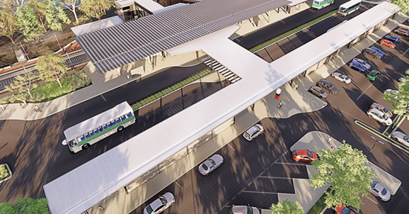 Western Australian Premier Mark McGowan has unveiled the first design images of Lakelands Station, which will be built by construction company ADCO.