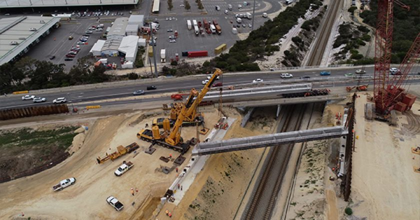 The Georgiou Group has manufactured one of Australia's largest largest Tee-Roff beams for the NEWest Alliance's Ranford Road Bridge project in WA, as part of the METRONET Thornlie-Cockburn Link.