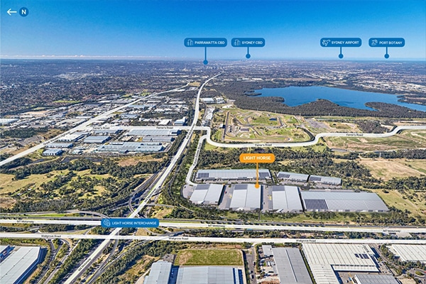 Charter Hall has received approval to develop a $300 million industrial and logistics estate in Eastern Creek, NSW.