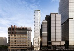 Construction has officially commenced on a $190 million commercial office building on Little Collins Street, which is set of be one of the largest strata office builds since the pandemic began in 2020.