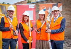 Crema Group has donated $20,000 worth of concrete towards PIF House Clayton, a new house being purpose-built in Melbourne's south-east for at-risk and homeless young people.