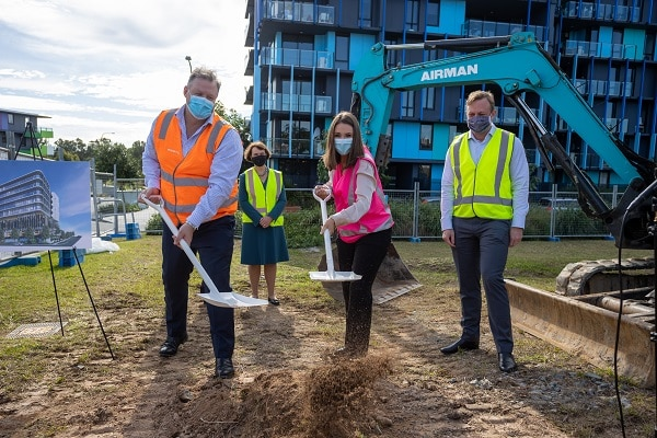Construction has commenced to deliver an $80 million children's health and education centre of excellence on the Gold Coast, Queensland.