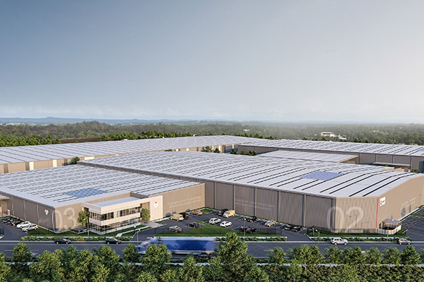 Frasers Property Industrial has appointed a construction firm to deliver its $62 million 4Ten Epping industrial estate in Melbourne's North.