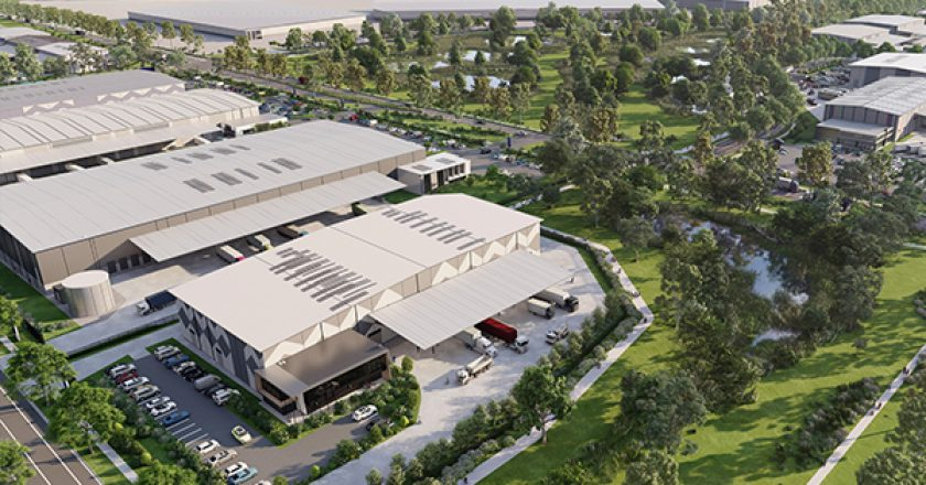 Stockland has begun construction on one of the largest logistics precincts in Victoria, with an estimated end value of around $2 billion and around one million square metres of warehouse space.