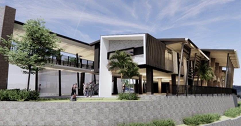 Construction works have begun one the $28.6 million Junior Secondary Precinct at Pacific Pines State High School, on the Gold Coast.