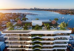 Developers Norup & Wilson have selected a builder to deliver its a $110 million, 14-storey Grandton Applecross project in Perth.