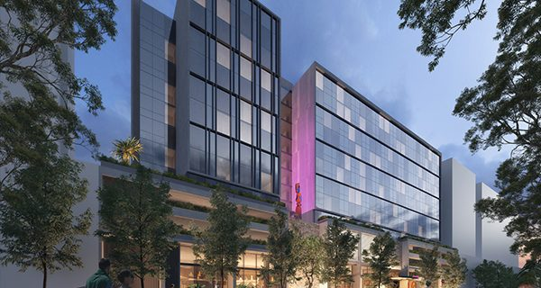 Roberts Co has begun construction works on the $140 million Moxy Hotel at Sydney Airport, the first Moxy Hotel to open in Australia.